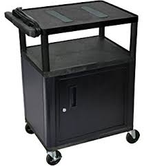 rubbermaid service cart with cabinet amazon com rubbermaid commercial plastic service and utility cart