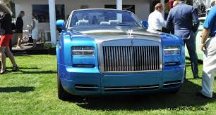 roll royce drophead usa debut of rolls royce phantom drophead coupe waterspeed collection
