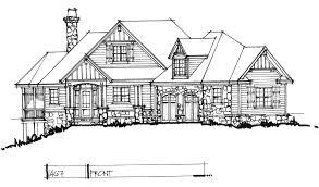 hillside walkout basement house plans conceptual house plan 1467 craftsman walkout houseplansblog