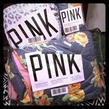 Victorias Secret Pink Comforter 59 Off Pink Victoria U0027s Secret Other Twin Vs Pink Bedding Set