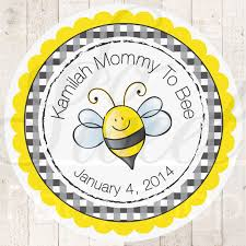 bumble bee decorations 24 baby shower favor sticker labels to bee theme bumble