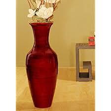 Classic Vases Amazon Com Greenfloralcrafts 27 In Classic Bamboo Floor Vase
