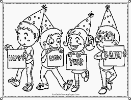 happy new year preschool coloring pages new year coloring pages free 5650 celebrations coloring coloringace
