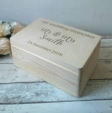 Personalised Keepsake Box Wedding Memory Box Wedding Memories Wedding Keepsake Box