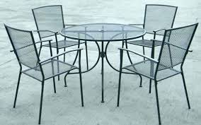 metal mesh patio table localbeacon co
