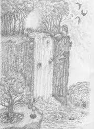 black white drawing