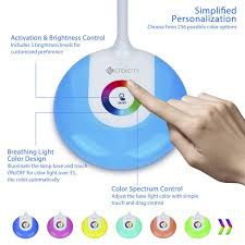 color spectrum energy levels etekcity wireless rechargeable color led desk lamp eye caring