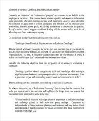 Statement Of Purpose Resume Resume Value Statement Lukex Co