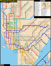 Ny Subway Map Pdf by Late Night Subway Map My Blog