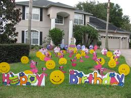 home decor diy birthday lawn decorations front yard decoration