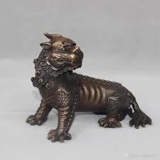 pixiu statue 2018 bronze evil spirit foo dog lion unicorn beast pixiu