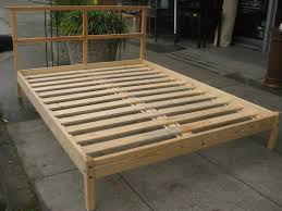 Build A Wooden Platform Bed by Wonderful Platform Beds Diy Bed Frame And Design Ideas