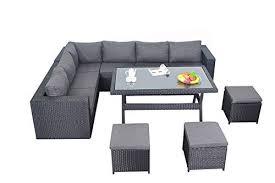 Rattan Garden Furniture Sofa Sets Port Royal Prestige Rattan Garden Furniture Table Dining Corner