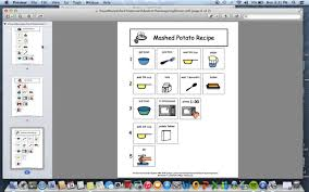 thanksgiving dinner help video product preview for visual recipes for children with autism