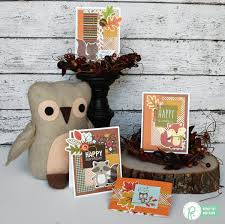 woodland forest birthday card set pebbles inc