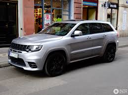 jeep grand cherokee 2017 grey jeep grand cherokee srt 8 2017 28 july 2017 autogespot