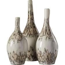 3 Vases Set 3 Piece Floor Vase Set Wayfair