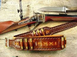 western leather belts custom gunbelts cowboy pouches old west
