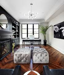 Hollywood Home Decor 30 Black And White Home Offices That Leave You Spellbound