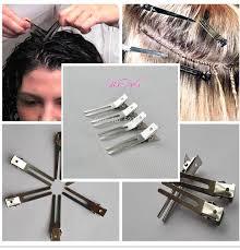 pin curl hairdressing prong pin curl setting section hair