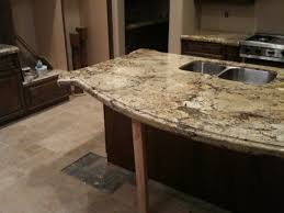 kitchen island countertop overhang support for counter with 23 overhang