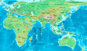 Africa Map Rivers 1100 Africa Map