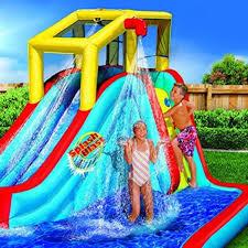 backyard water slide park bounce house jumper kid splash pool sale
