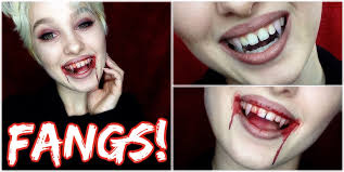 how to make fangs easy cheap youtube