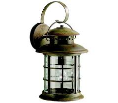 Rustic Outdoor Wall Lighting Kichler 9761rst Rustic 1 Light Bronze Outdoor Wall Lighting