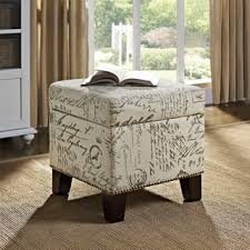 fabric storage cube ottoman storage cube for less overstock com