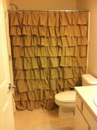 Frilly Shower Curtains A Little Bit Of Everything 10 Diy Ruffle Shower Curtain