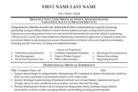 Medical Office Assistant Resume Examples by Simple Resume Office Work Resume Resume Preparation Format Office