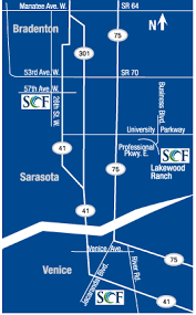 locations maps and directions state college of florida manatee
