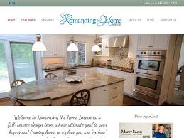coming home interiors studies fast website launch