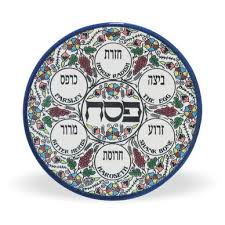 seder meal plate passover the of redemption israel365