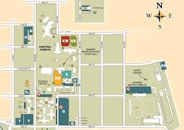 University Of Tennessee Parking Map by Central Campus Map