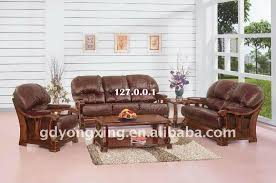 great leather and wood sofa leather wood sofa u2013 interiorvues
