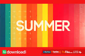 summer intro opener 11508664 videohive project free download