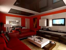 Living Room Red Sofa by Luxury Living Room Interior Design Ideas With Red Sofa Furniture