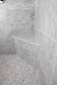footstep in shower main ensuite pinterest spa shower mosaic