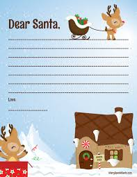 printable santa letters to santa letter to santa a very special santa
