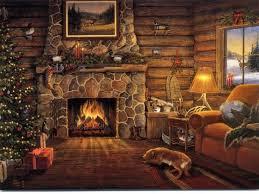 free christmas desktop wallpapers christmas fireplace desktop