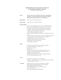 ideas of department store sales associate cover letter in resume
