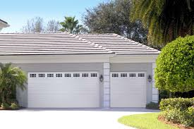 amarr short panel garage door in true white with prairie windows