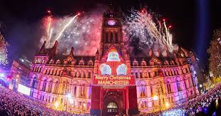 manchester christmas lights switch on 2016 dates location and