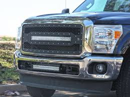 f250 led light bar 2011 2015 ford super duty bumper mount kit black rigid industries