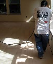 wood floor leveling repair sanding buffing waxing water
