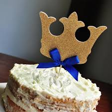 king crown cake topper ships in 1 3 business days royal prince