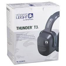 t3 return guide howard leight by honeywell thunder t3 dielectric earmuffs 30nrr