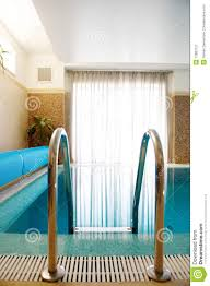 swimming pool in inside the house stock image image 12883121